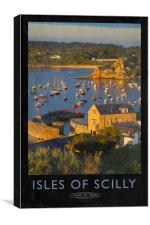 Isles of Scilly, Canvas Print