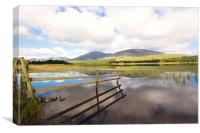 Loch Tulla reflections, Canvas Print