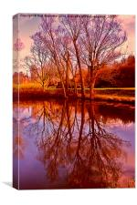 Anglesey Reflections, Canvas Print