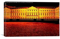 Egmont Palace Brussels, Canvas Print