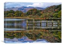 Brathay Bay On Windermere, Canvas Print