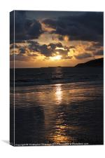 Sunset over the Cobb, Canvas Print