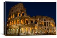 The Colosseum - Rome, Canvas Print