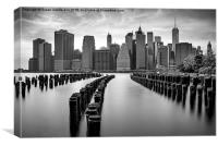 Gotham City New York City, Canvas Print
