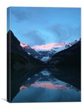 Lake Louise Sunrise, Canvas Print