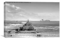 Crosby Beach, Canvas Print