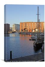 Royal Albert Dock, Liverpool, Canvas Print