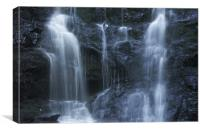Water falling, Canvas Print