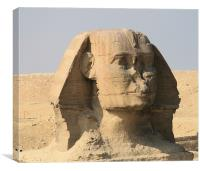 Great Sphinx of Giza 6, Canvas Print
