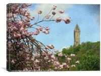 wallace monument5, Canvas Print