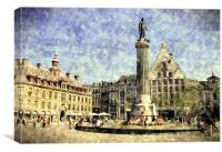 lille france, Canvas Print