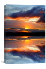 reflect on this, Canvas Print
