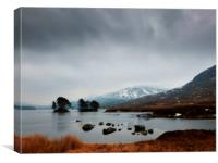 highland scene, Canvas Print