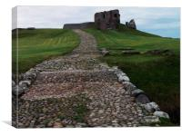 mighty duffus castle, Canvas Print