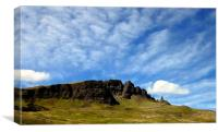 OL'MAN OF STORR, Canvas Print
