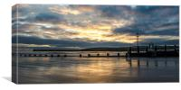 Aberdeen Beach at Sunrise, Canvas Print
