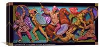 Alexander and the Persians, Canvas Print