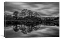 Elterwater Reflections, Canvas Print