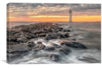 New Brighton Rock, Canvas Print