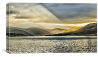 Loch Broom After The Storm, Canvas Print