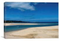 Looking towards St Ives, Canvas Print