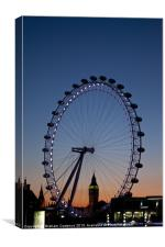 London Eye, Canvas Print