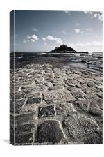 St Michaels Mount, Canvas Print