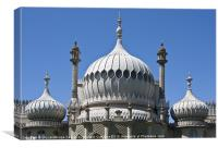 Royal Pavilion Brighton, Canvas Print