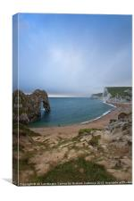 Durdle Door, Dorset, Canvas Print