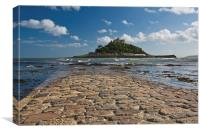 St Michaels Mount, Marazion, Cornwall, Canvas Print