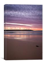 Cornwall Sunset, Canvas Print