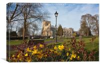 Priory Church, Dunstable, Canvas Print