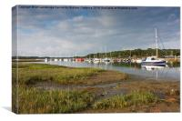 Yarmouth Reflections, Canvas Print
