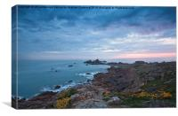 Corbiere Lighthouse, Canvas Print
