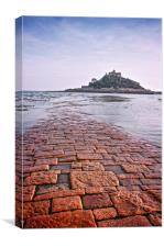 St Michael's Mount, Canvas Print