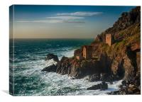 Botallack tin mine, Canvas Print