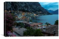 Limone in the evening, Canvas Print