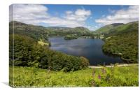 Grasmere from Loughrigg Terrace, Canvas Print