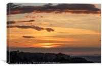 Tropea sunset, Canvas Print