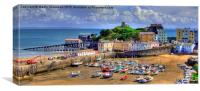 Regatta Day Tenby, Canvas Print
