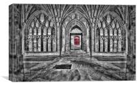 Red Doors, Canvas Print