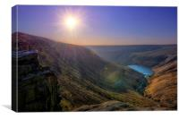 Saddleworth Moor Peak District #3, Canvas Print