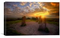 Clent Follys, Canvas Print