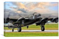 Lancaster Vera from Canada, Canvas Print