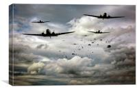 Forever Airborne, Canvas Print