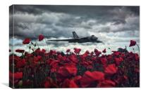 Farewell to The Spirit of Great Britain , Canvas Print