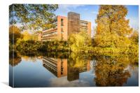 Kingfisher House, Norwich, Canvas Print