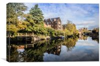 St James Mill and Quayside Buildings, Norwich , Canvas Print