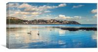Torquay in the Spring time, Canvas Print