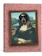 monaHARVEY lisa, Canvas Print